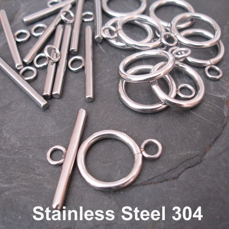 Americké zapínání 19x14mm - nerezová ocel 304 (Stainless Steel)