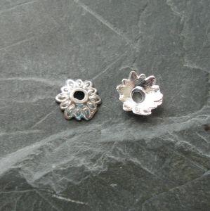 Kaplík 8 mm - stříbrný
