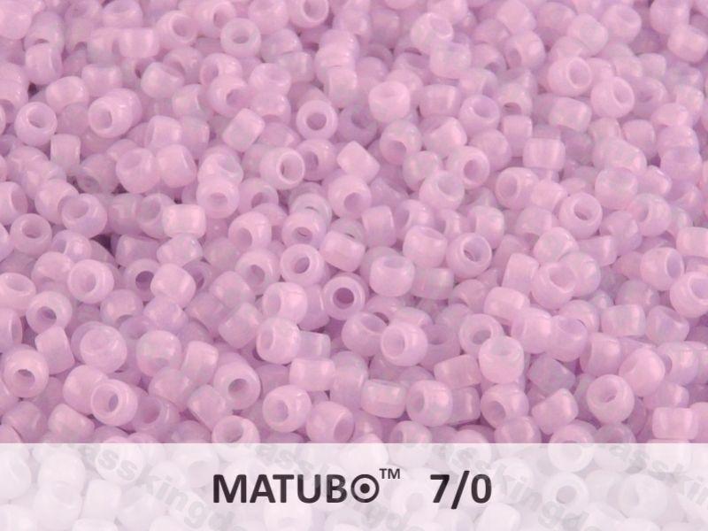 Mačkaný rokajl Matubo 7/0 - sv. fialový - 5g