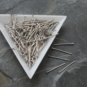 Ketlovací nýty 20mm - platinové