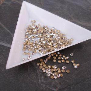 Skleněné šatony cca 2,1 - 2,2 mm - čiré