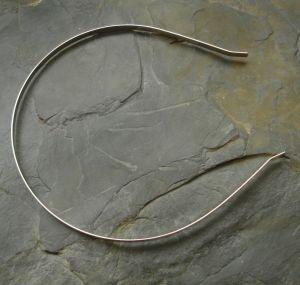 Základ na čelenku 5mm - platinový