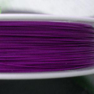 Bižuterní lanko 0,38mm - fialové