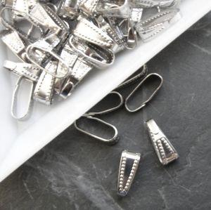 Šlupna 10x3,5mm - platinová