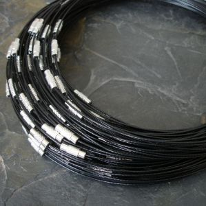 Lanko Ø14cm se zapínáním - černé