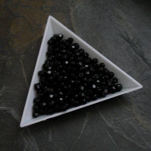 Ohňovky  cca 4mm - černé