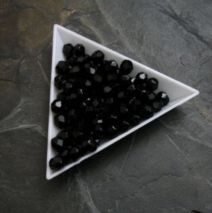 Ohňovky  cca 6mm - černé