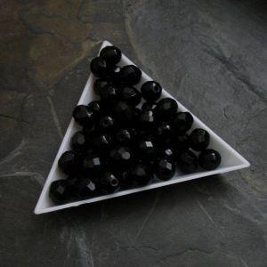 Ohňovky  cca 8mm - černé