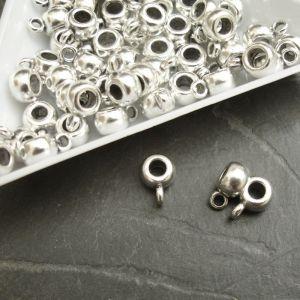 Ozdobný závěs 5,8x4,5 mm - starostříbrný