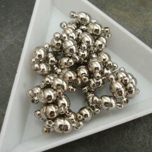 Magnetické zapínání 11x5mm - platinové