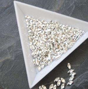 Člunek 5x2,2mm - stříbrný