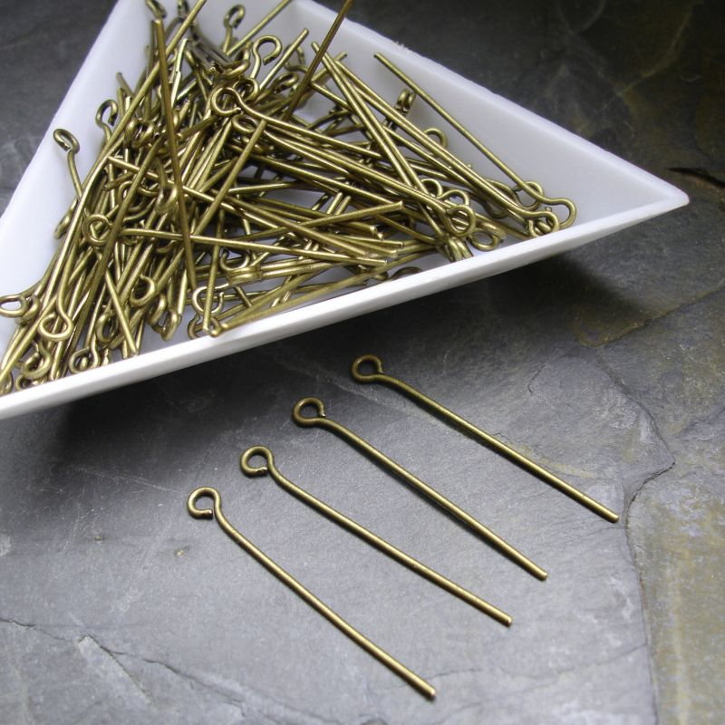 Jehly 30 mm - starobronzové