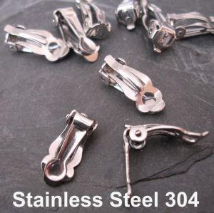 Klipsy 16x7x6mm - Stainlees Steel 304