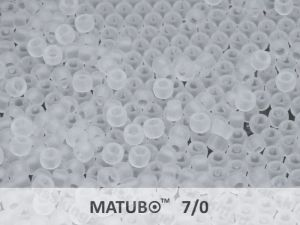 Matubo 7/0 - čirý mat - 5g