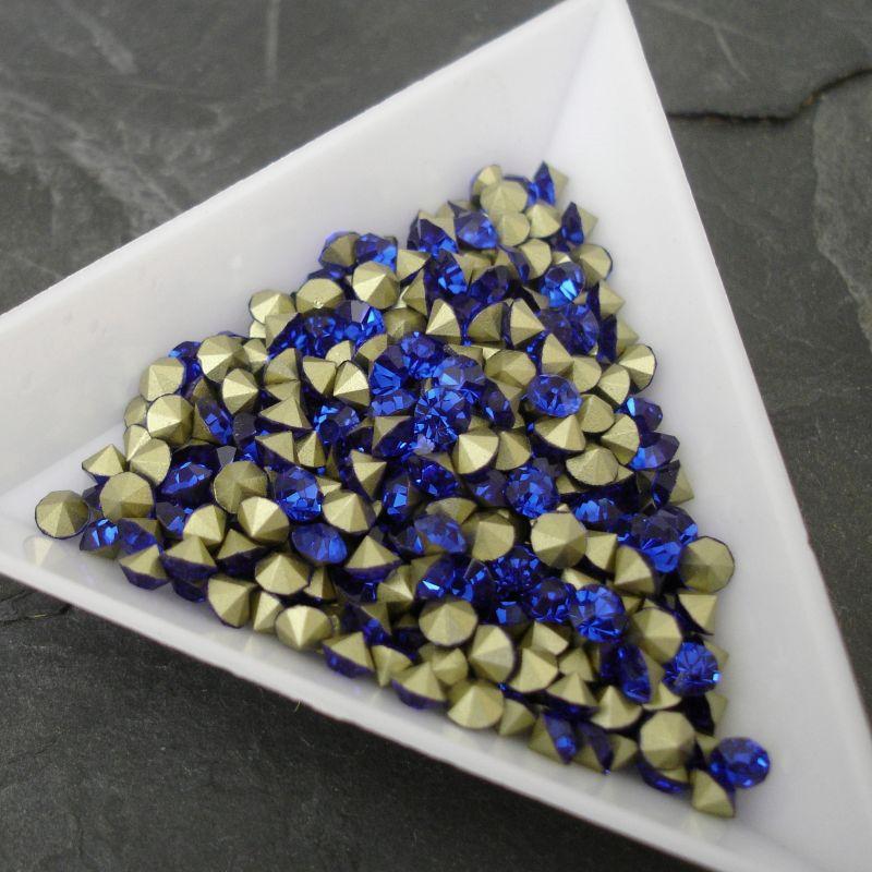 Šatony cca 3,7 - 3,8 mm - modré
