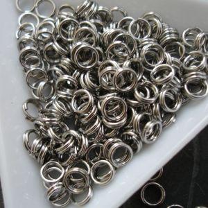 Dvojité kroužky 5x0,7mm chirurgická ocel 316L (Stainless Steel)