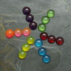 Kabošony kulaté 14mm - mix barev