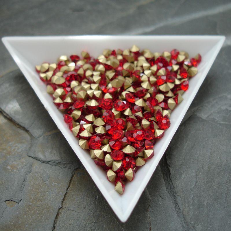Šatony cca 3,3 - 3,4 mm - červené