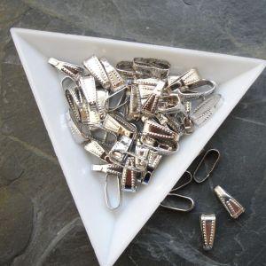 Šlupna 10x3,5mm - platinová - 10 ks