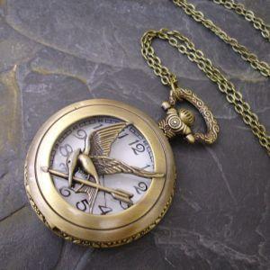 """Kapesní hodinky """"cibule"""" - starobronzové č. 5. - 1 ks"""