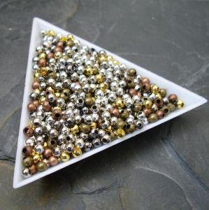 Korálek kulička 3mm - mix