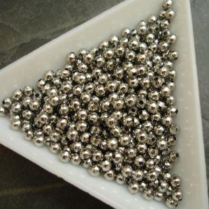 Korálek kulička 3mm - nerezová ocel 304 (Stainless Steel) - 50 ks