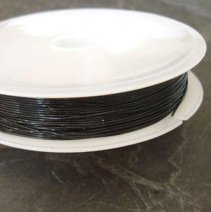 Pruženka 0,5mm - černá