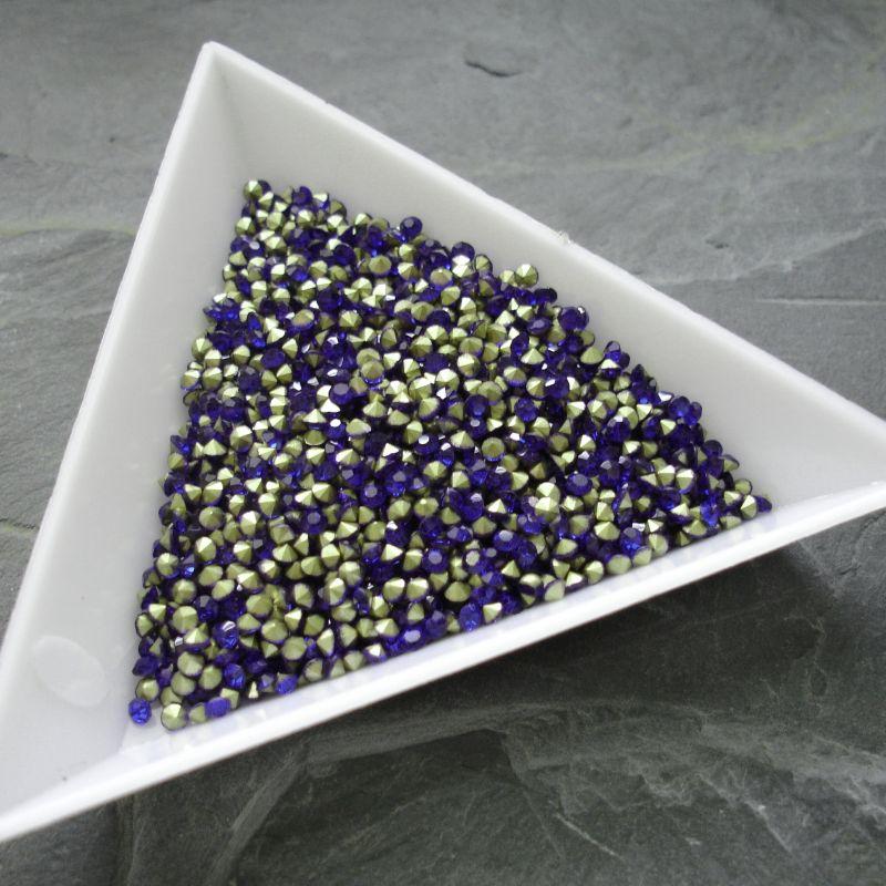 Šatony cca 1,6 - 1,7 mm - modré - 50 ks