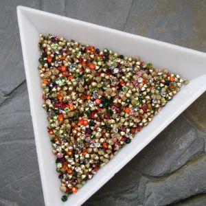 Skleněné šatony cca 1,8-1,9 mm - mix barev I. - 50 ks