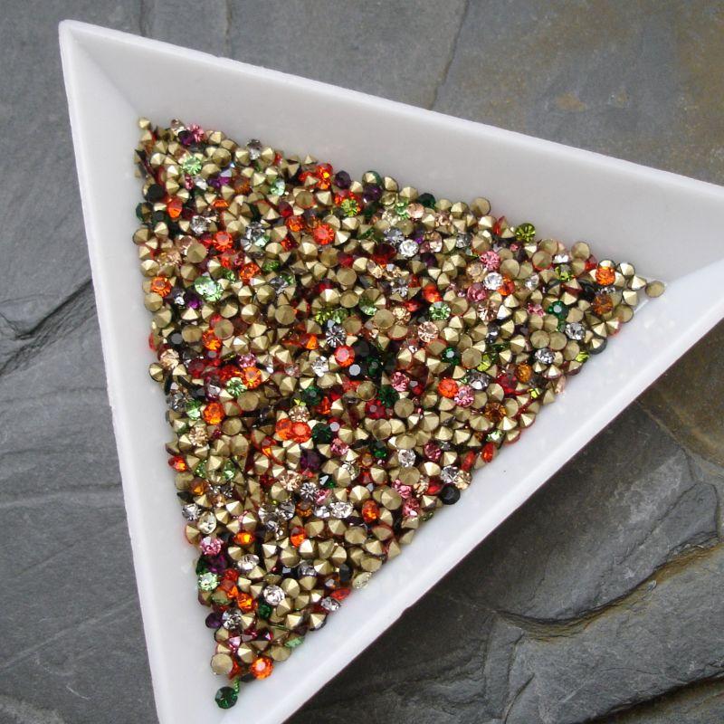 Šatony cca 1,8-1,9 mm - mix barev I. - 50 ks