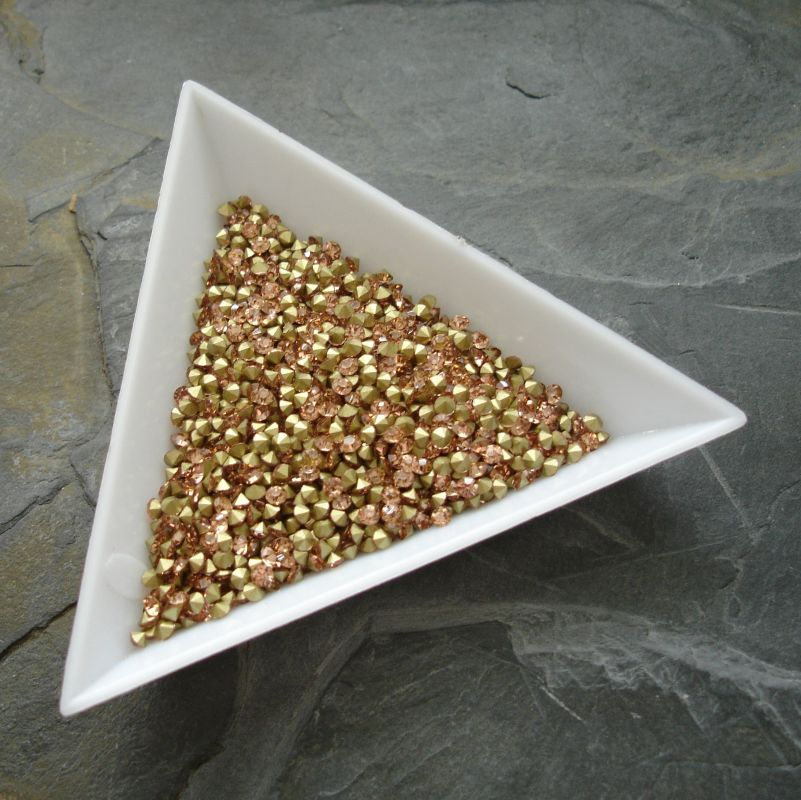 Šatony cca 1,9 - 2,0 mm - broskvové - 50 ks