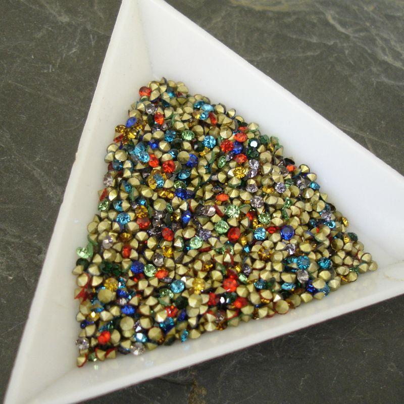 Šatony cca 1,9-2,0 mm - mix barev I. - 50 ks
