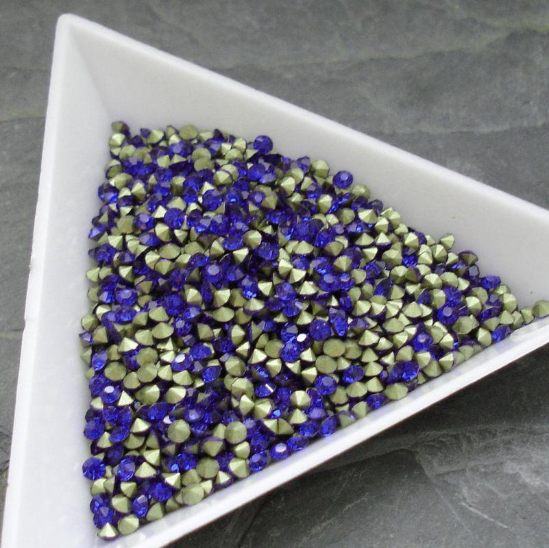 Šatony cca 2,1 - 2,2 mm - modré - 50 ks