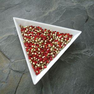 Skleněné šatony cca 2,4 - 2,5 mm - červené