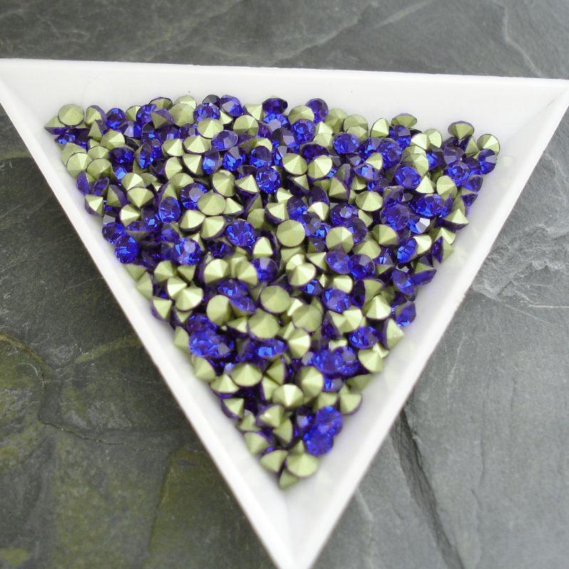 Šatony cca 4,0 - 4,2 mm - modré - 25 ks