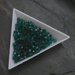 Ohňovky  cca 4mm - tm. zelené