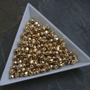 Ohňovky  cca 4mm - zlaté