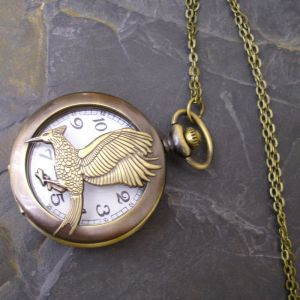 """Kapesní hodinky """"cibule"""" - starobronzové č. 6."""