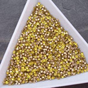 Skleněné šatony cca 1,8-1,9 mm - žluté