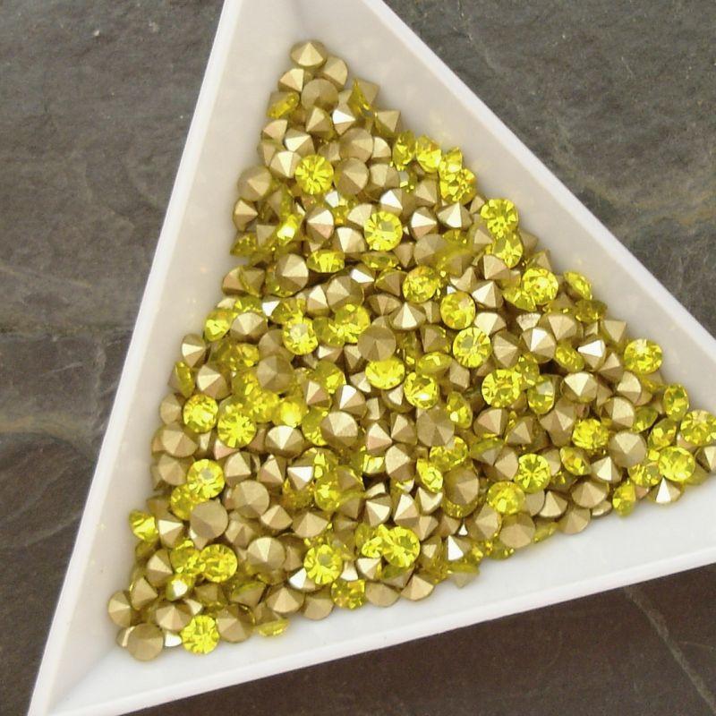 Šatony cca 3,3 - 3,4 mm - žluté - 50 ks