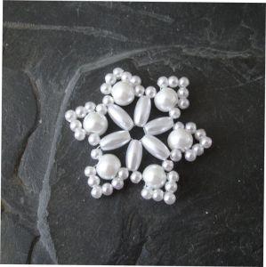 Hvězda č. 10 - bílá - 1 ks