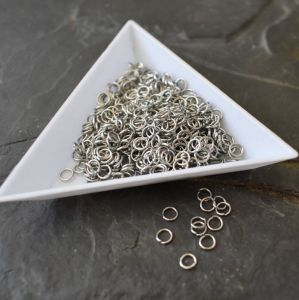 Spojovací kroužky 4mm - Stainless Steel 304 - 50 ks