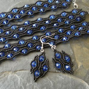 Sada River černo-modrá