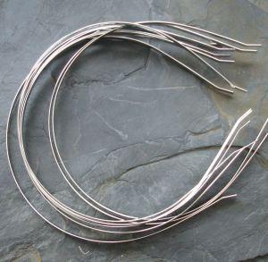 Čelenka 5mm vp 120mm - platinová - 1 ks